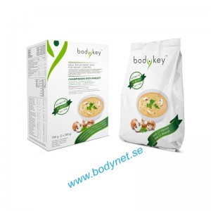 Meal Replacement Soup - champinjon med persilja - bodykey by NUTRIWAY™